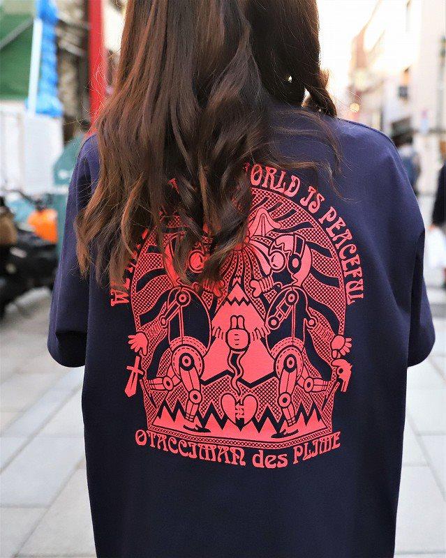 【OTACCIMAN】《2色》クマTシャツの画像5